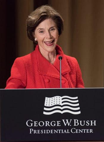 Laura Bush headlines Dallas benefit for Nigeria peace effort