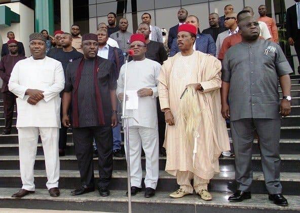 Biafra: We won't abandon Nnamdi Kanu – South-East governors