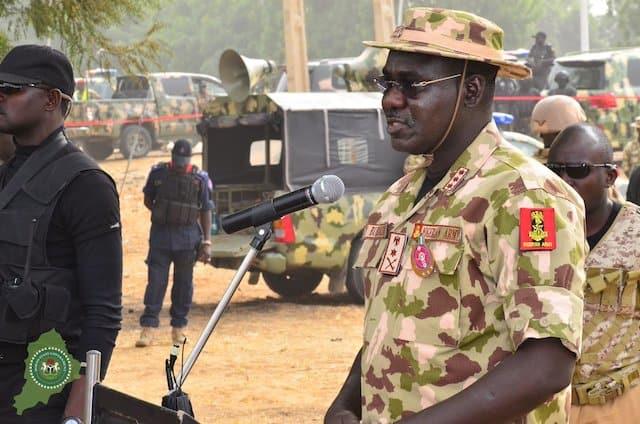 Army did not declare IPOB a terrorist Organization – Buratai